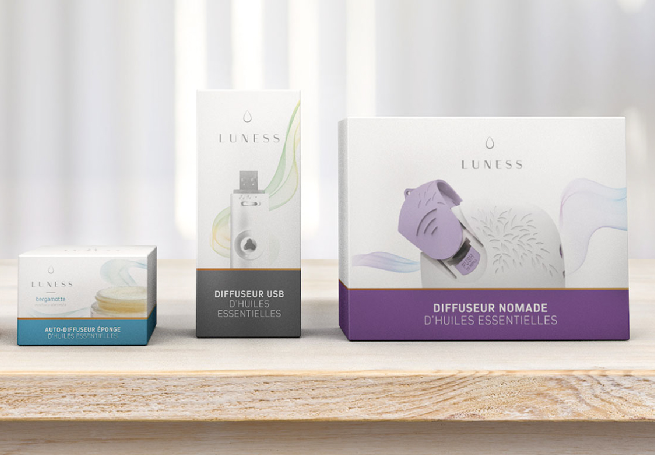 Luness : Packaging