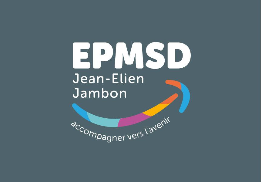 EPMSD – Coutras : Identité visuelle, logotype, signalitique